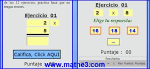 tabla multiplicar 2