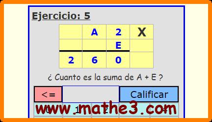 criptogramas de multiplicacion para niños de primaria
